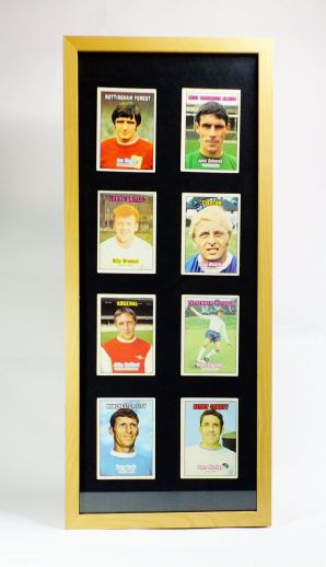 Framed 1970's Football Cards (Various)